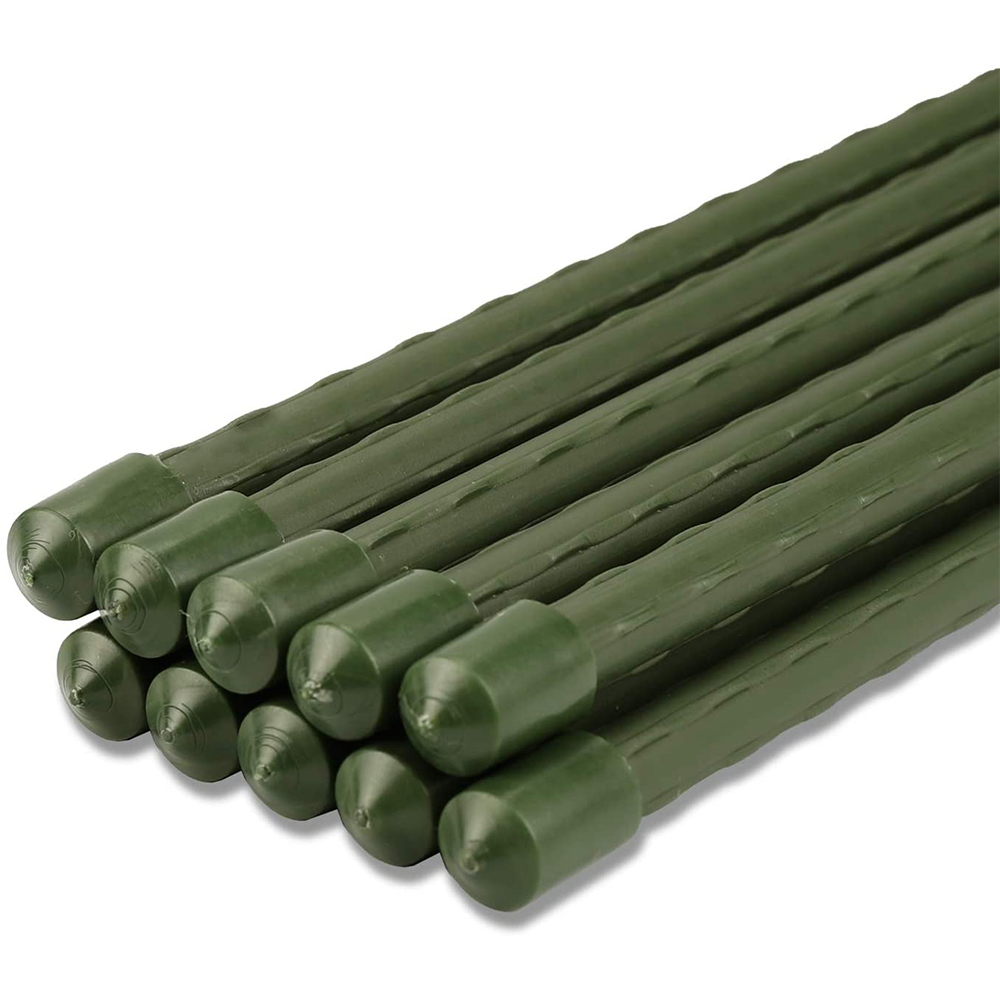 100 x Pflanzstab 170 cm lang Pflanzenstab grün Tomatenstab Rankhilfe Pflanzstäbe