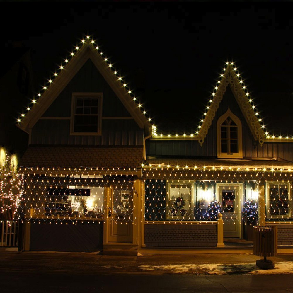 3x2m led lichternetz led weihnachtsbaum. Black Bedroom Furniture Sets. Home Design Ideas
